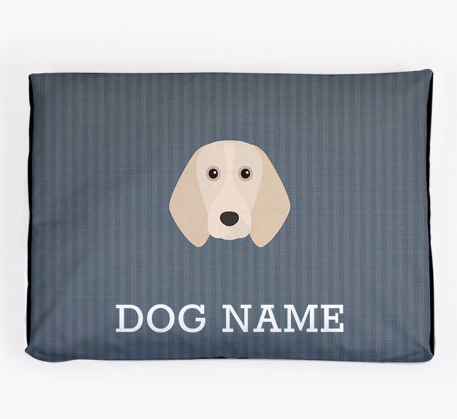 Personalised Dog Bed for your Beagle