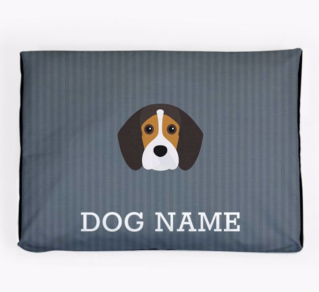 Personalised Dog Bed for your Beaglier
