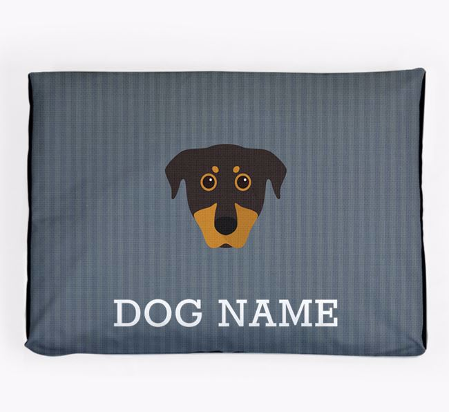 Personalised Dog Bed for your Beauceron