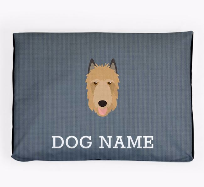 Personalised Dog Bed for your Belgian Laekenois