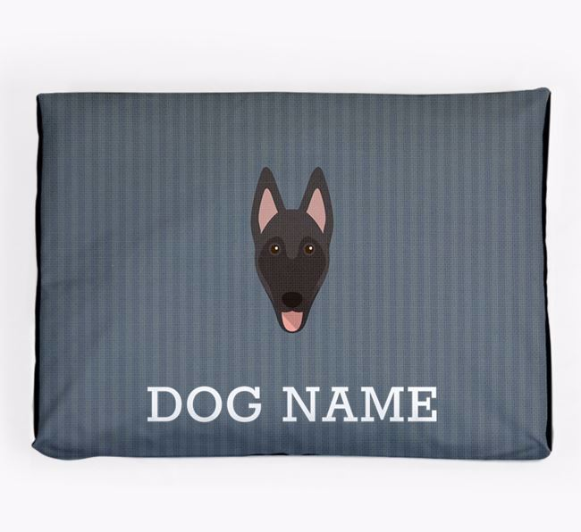 Personalised Dog Bed for your Belgian Malinois