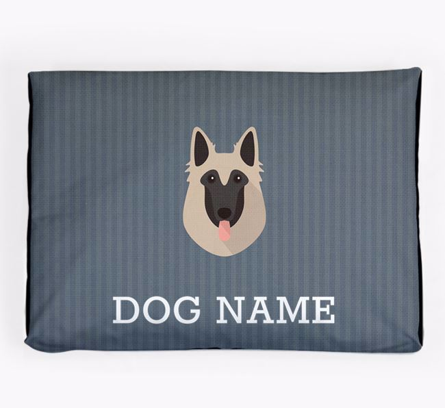 Personalised Dog Bed for your Belgian Tervuren