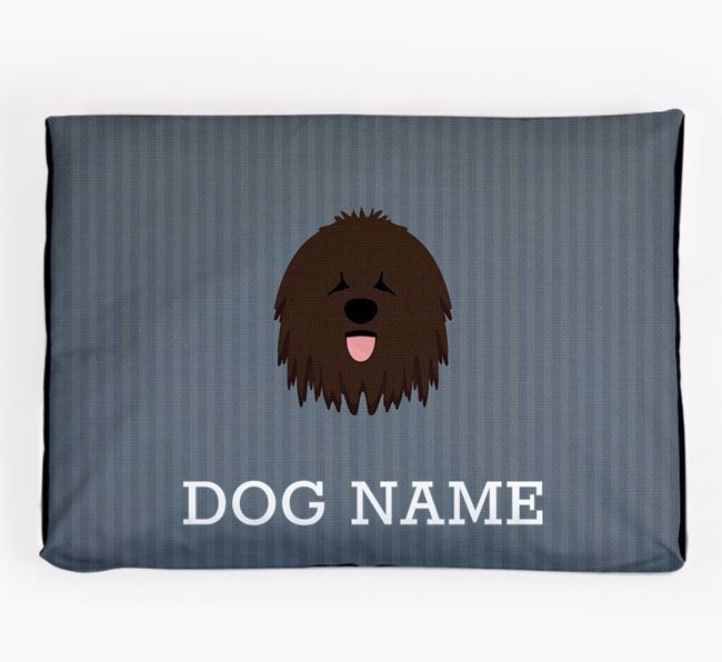 Personalised Dog Bed for your Bergamasco