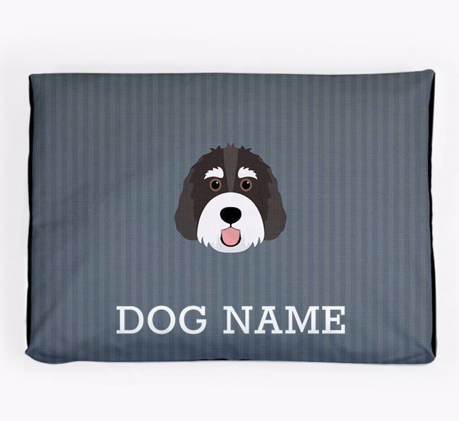 Personalised Dog Bed for your Bernedoodle