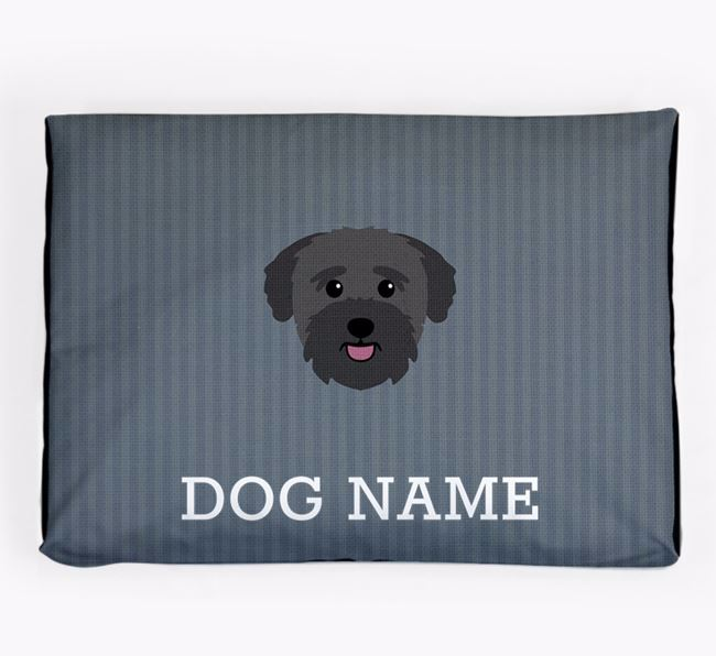 Personalised Dog Bed for your Bichon Yorkie
