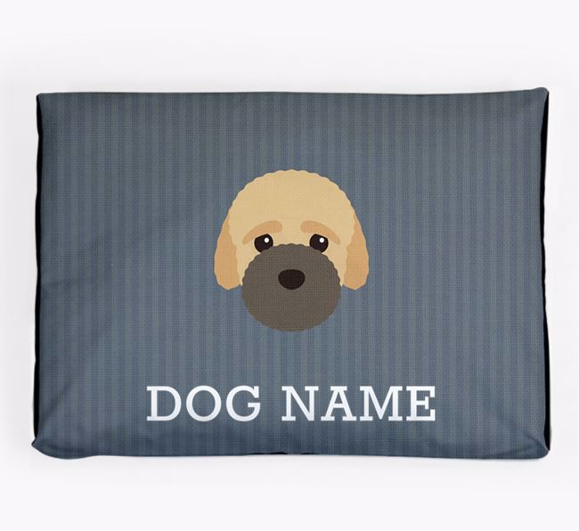 Personalised Dog Bed for your Bich-poo