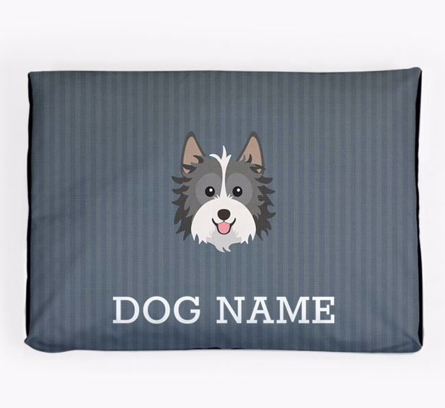Personalised Dog Bed for your Biewer Terrier
