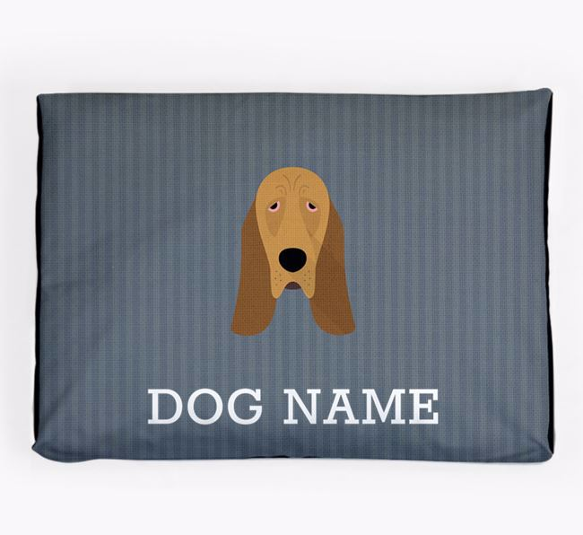 Personalised Dog Bed for your Bloodhound