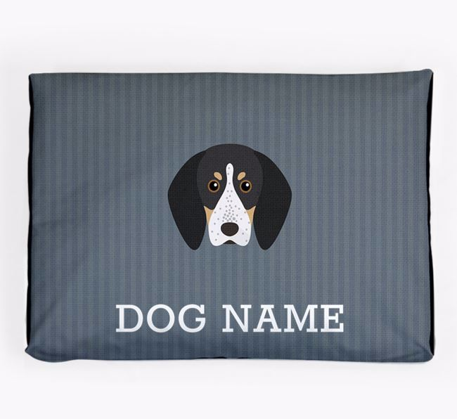 Personalised Dog Bed for your Bluetick Coonhound