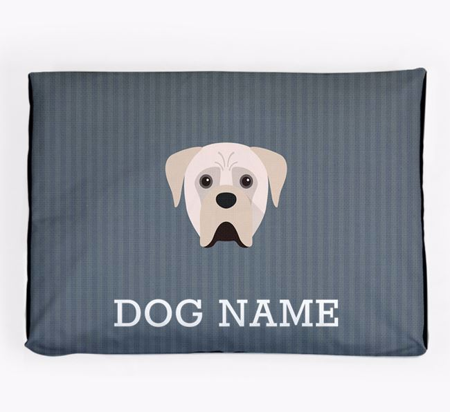 Personalised Dog Bed for your Boerboel