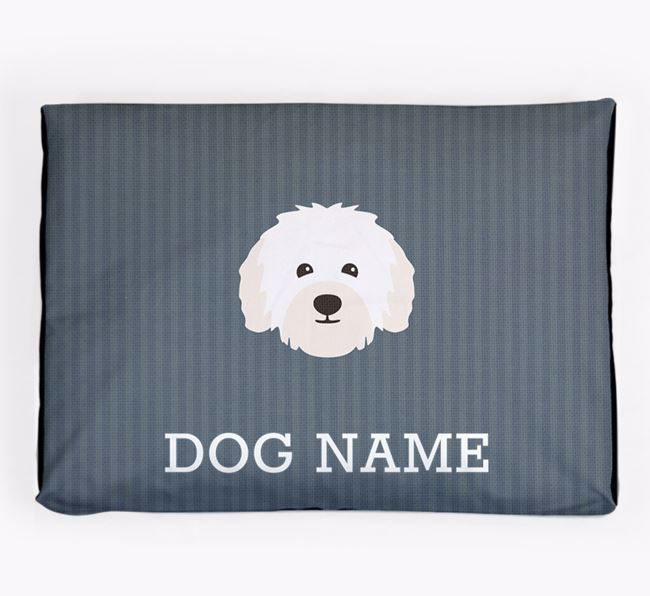 Personalised Dog Bed for your Bolognese