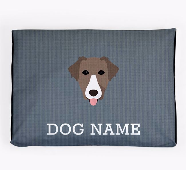 Personalised Dog Bed for your Borador