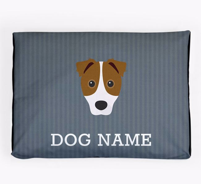 Personalised Dog Bed for your Border Jack