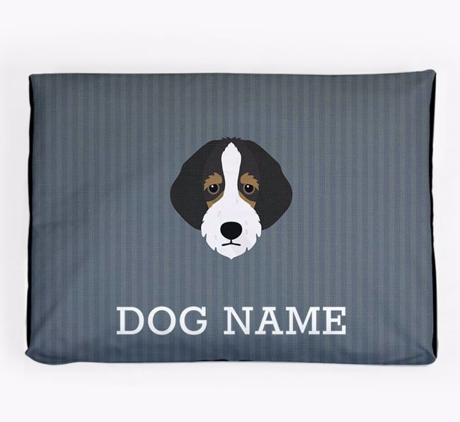 Personalised Dog Bed for your Bordoodle