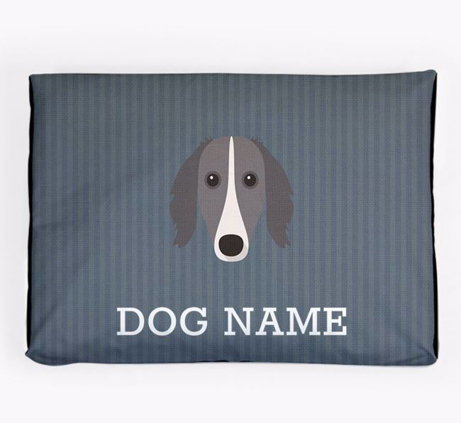Personalised Dog Bed for your Borzoi