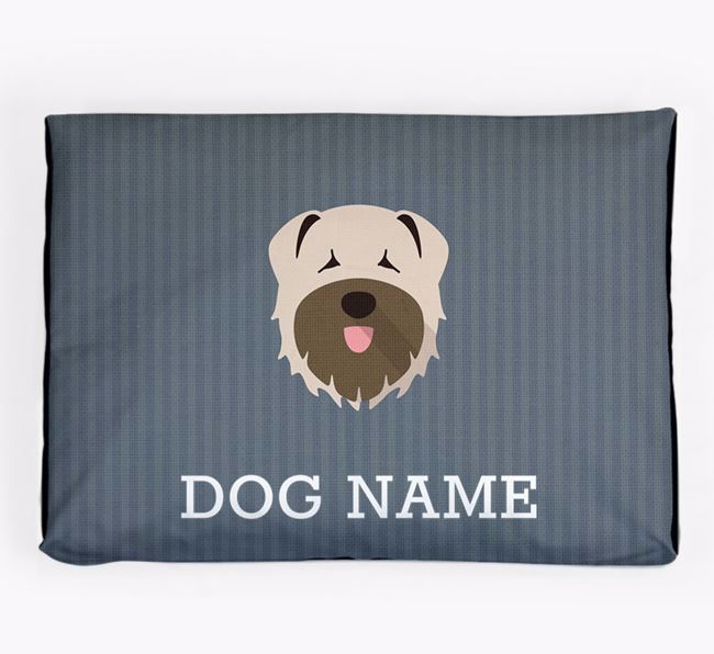 Personalised Dog Bed for your Bouvier Des Flandres