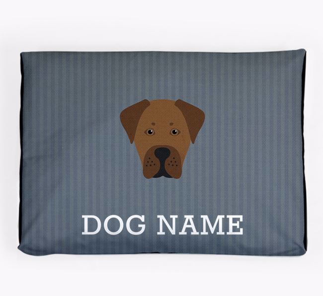 Personalised Dog Bed for your Boxador