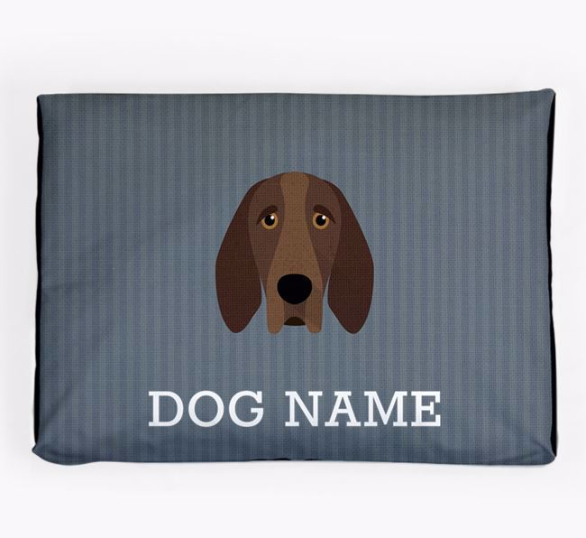 Personalised Dog Bed for your Bracco Italiano