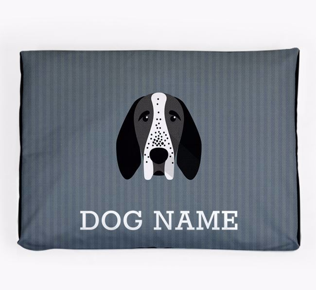 Personalised Dog Bed for your Braque D'Auvergne