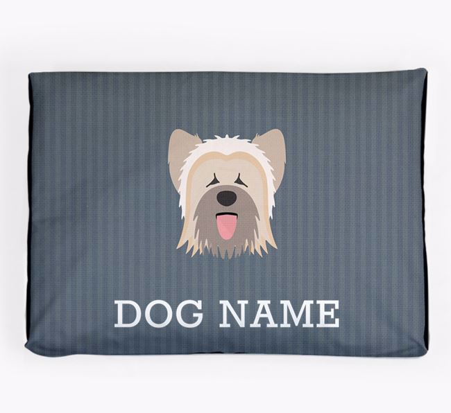 Personalised Dog Bed for your Briard