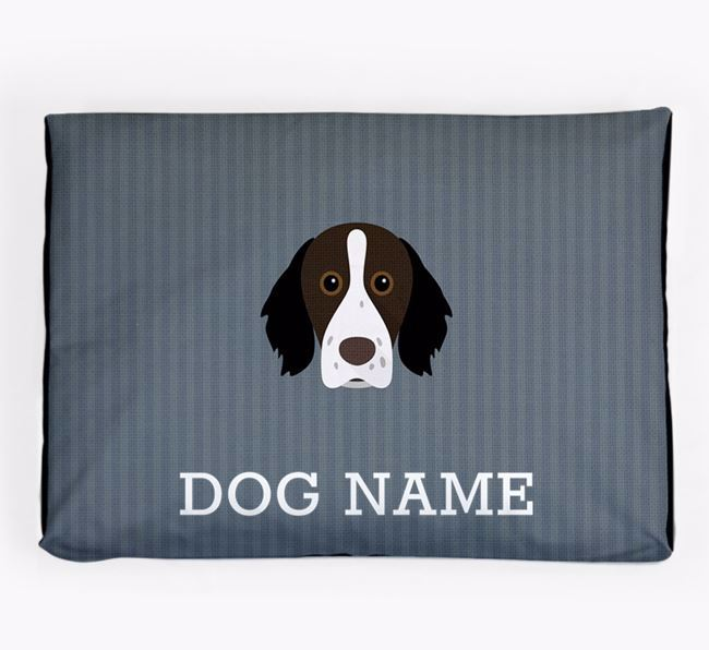 Personalised Dog Bed for your Brittany