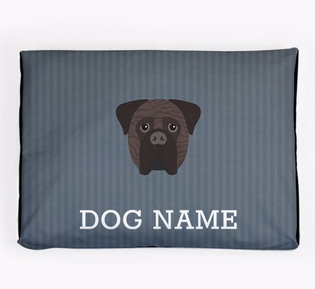 Personalised Dog Bed for your Bullmastiff