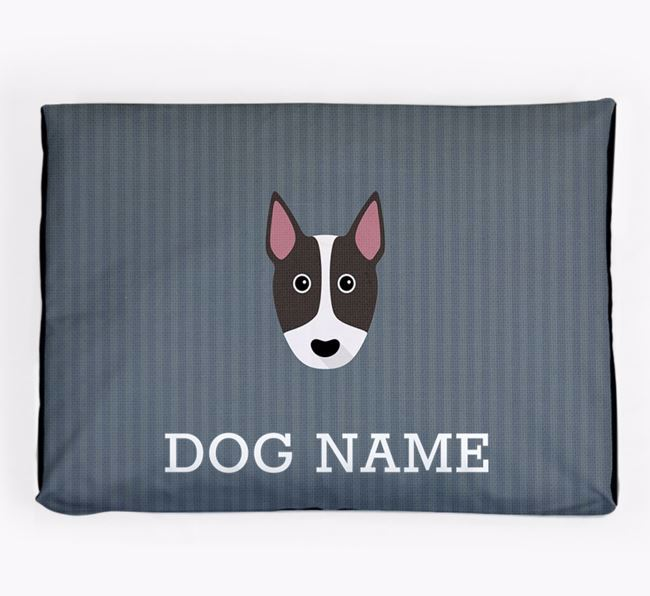 Personalised Dog Bed for your Bull Terrier