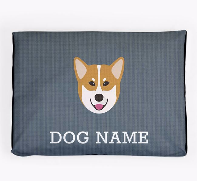 Personalised Dog Bed for your Canadian Eskimo Dog