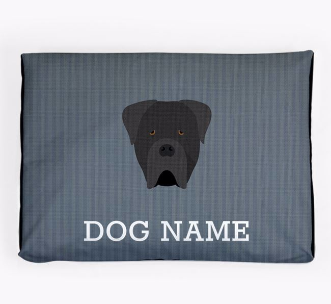 Personalised Dog Bed for your Cane Corso Italiano
