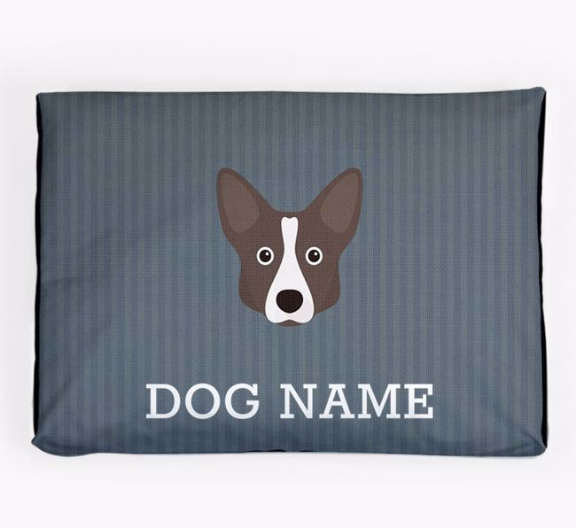 Personalised Dog Bed for your Cardigan Welsh Corgi