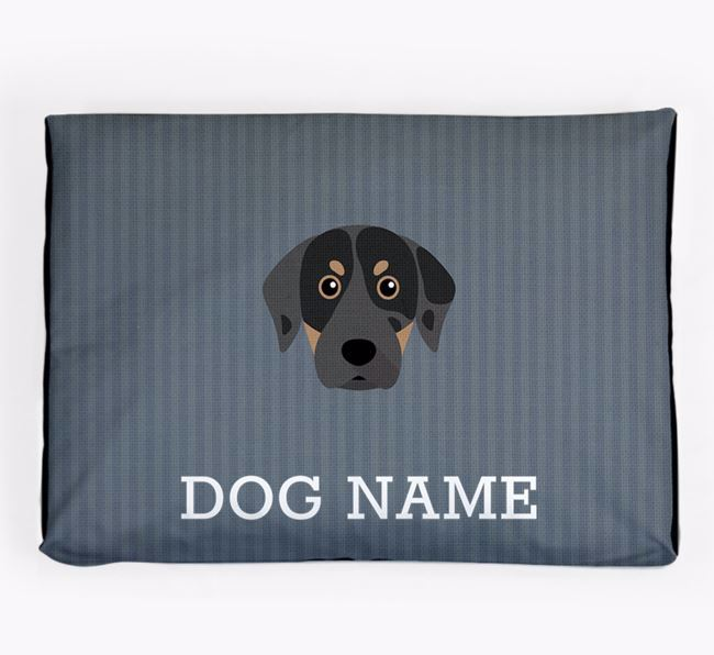 Personalised Dog Bed for your Catahoula Leopard Dog