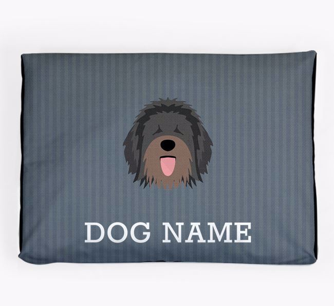 Personalised Dog Bed for your Catalan Sheepdog