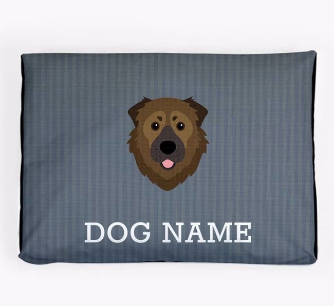 Personalised Dog Bed for your Caucasian Shepherd Dog