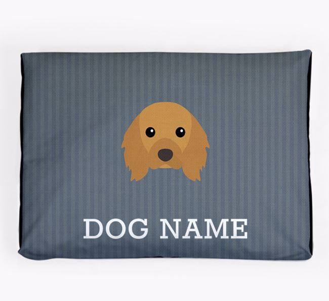 Personalised Dog Bed for your Cavalier King Charles Spaniel