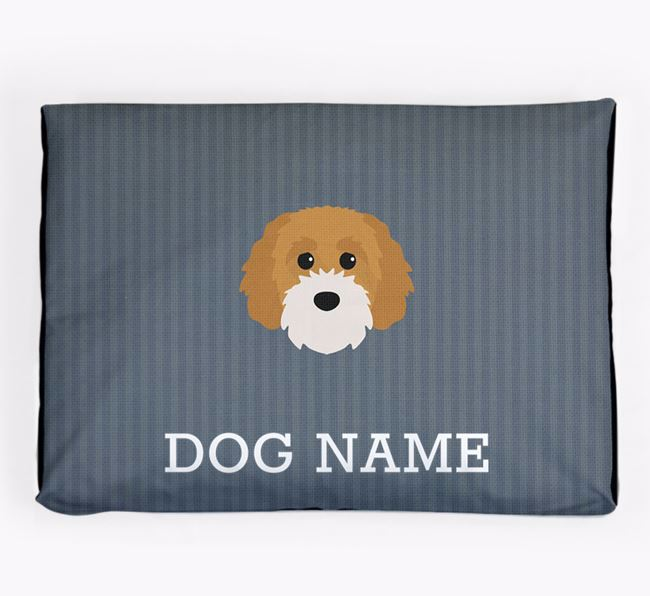 Personalised Dog Bed for your Cavapoochon