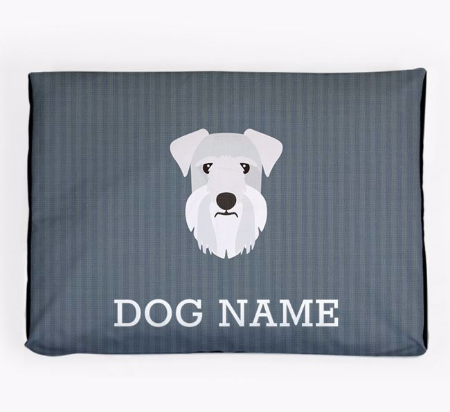Personalised Dog Bed for your Cesky Terrier