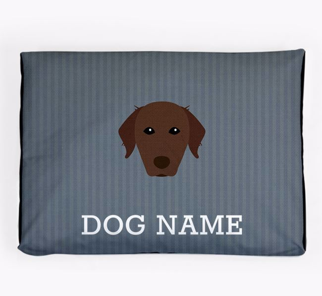 Personalised Dog Bed for your Chesapeake Bay Retriever
