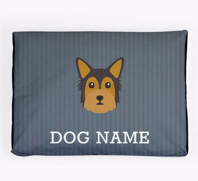 Personalised Dog Bed for your Chorkie
