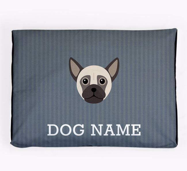 Personalised Dog Bed for your Chug