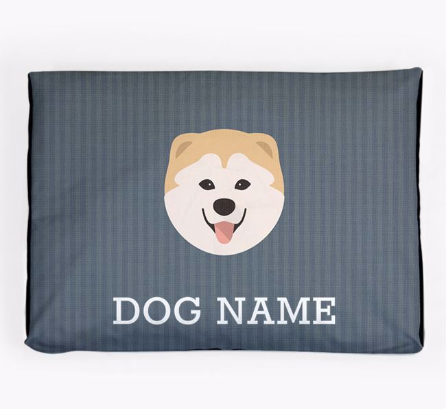 Personalised Dog Bed for your Chusky
