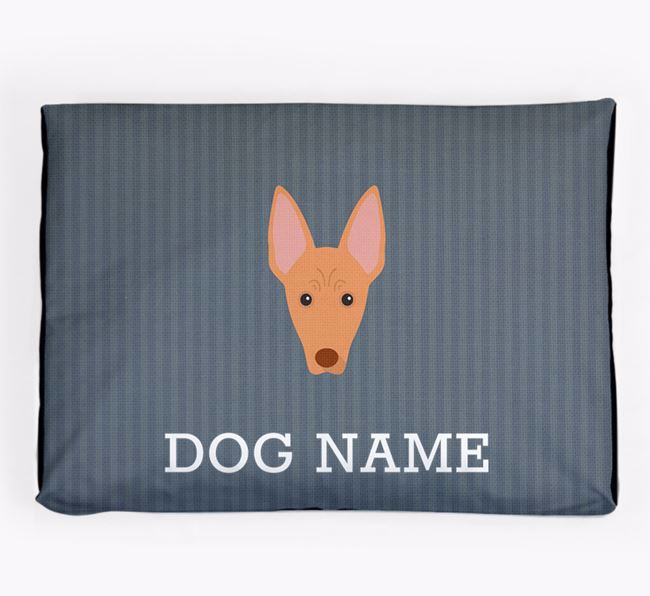 Personalised Dog Bed for your Cirneco Dell'Etna