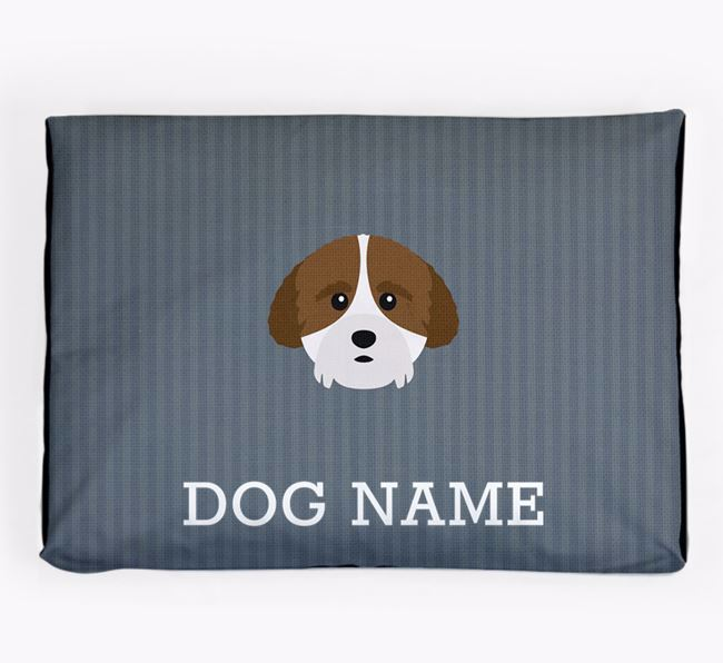 Personalised Dog Bed for your Cockachon