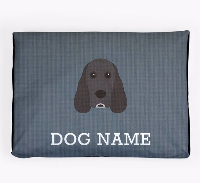 Personalised Dog Bed for your Cocker Spaniel