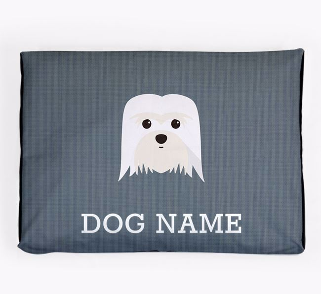 Personalised Dog Bed for your Coton De Tulear