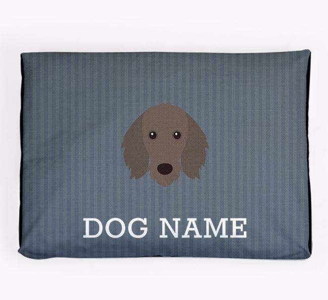 Personalised Dog Bed for your Dachshund