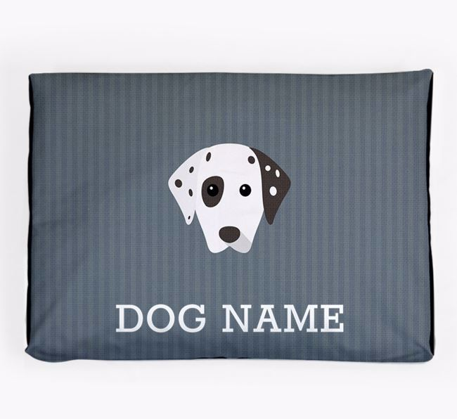 Personalised Dog Bed for your Dalmatian