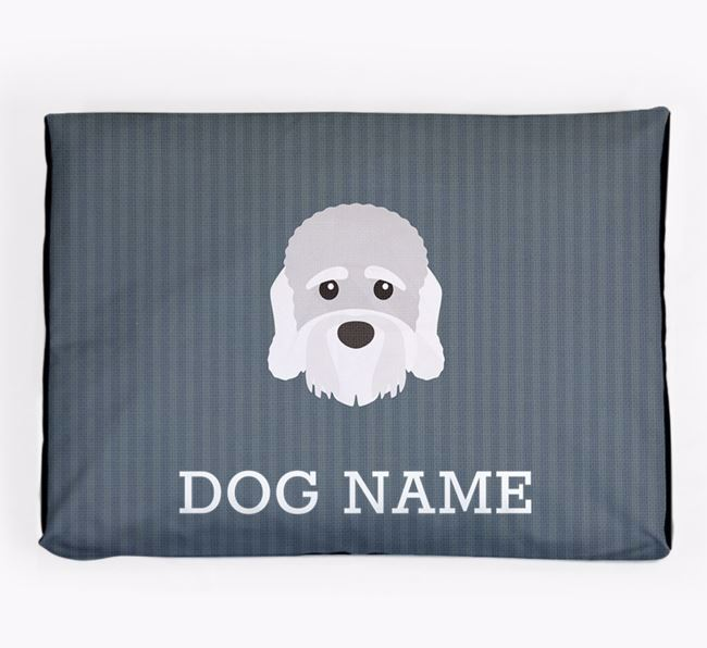 Personalised Dog Bed for your Dandie Dinmont Terrier
