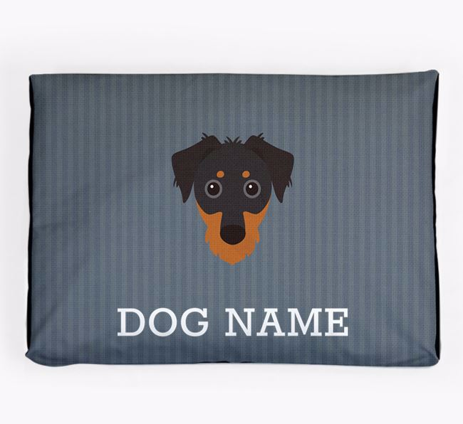 Personalised Dog Bed for your Dorkie