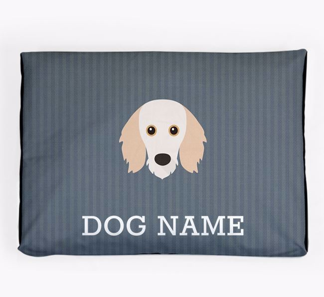 Personalised Dog Bed for your Doxiepoo