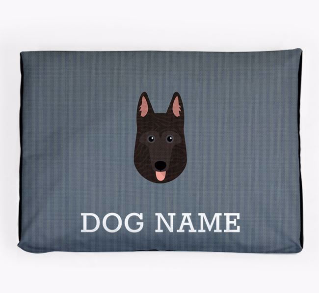 Personalised Dog Bed for your Dutch Shepherd